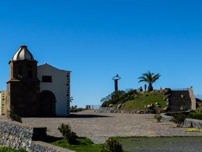 Aussichtspunkt von Igualero mit der kleinen Ermita
